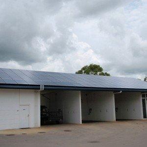 20kw Solar Carwash