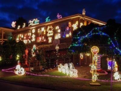 gold coast xmas lights