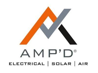 amp'd electrical logo